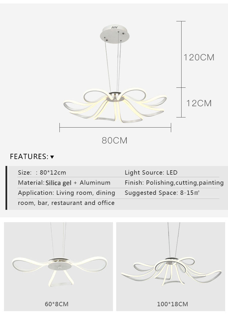 Led Hanglamp Ikea Us 147 52 Led Pendant Lights Lamparas Colgantes Lamp Suspension Luminaire Hanglamp Chandelier Ceiling Lampadari Light Fixtures Hanglampen In Pendant