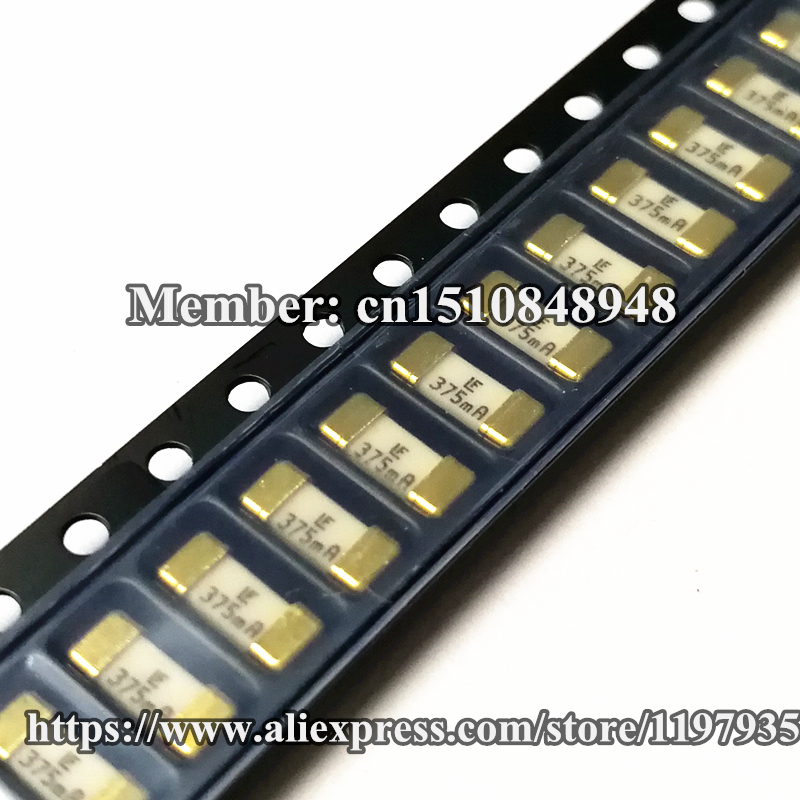 Smd Fuse 125v 375ma Fast Acting Littelfuse 0451 375mrl Smd