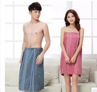 Adult Batch Towel bamboo fiber adult bathing water absorbent wearable swimming towel men women