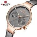 NAVIFORCE Top Luxus Marke Mode Frauen Uhren Quarz Damen Strass Uhr Kleid Armbanduhr Weibliche Casual Einfache Uhr