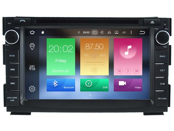 Android 6.0 CAR Audio DVD player FOR KIA CEED (2010-2012)/VENGA gps Multimedia head device unit receiver BT WIFI