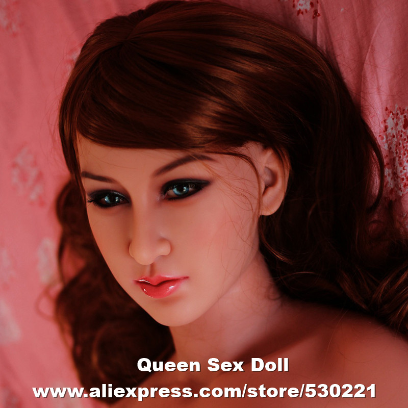Top quality WMDOLL #105 head for TPE sex doll, love doll heads, oral sexy toys, can fit for 140cm-170cm body top quality wmdoll 105 head for tpe sex doll love doll heads oral sexy toys can fit for 140cm 170cm body
