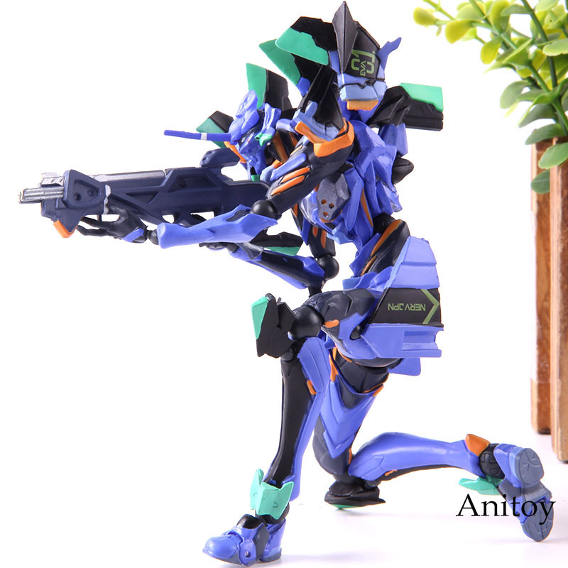 Anime Yamaguchi Evangelion Evolution <font><b>EVA</b></font> <font><b>01</b></font> Final Model Evangelion <font><b>Figure</b></font> PVC Collectible Model Toy image
