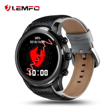 LEMFO LEM5  Android 5.1 OS Reloj Inteligente  MTK6580 1GB / 8GB Bluetooth WiFi GPS  Rastreador de ejercicios   para Android y IOS