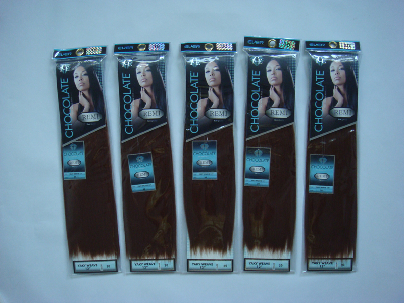 Whole 50packs Ice Chocolate Yaky Weaving 14 Colors 100 Remy Quality Hair Premium Blended Extensions On Aliexpress Alibaba Group