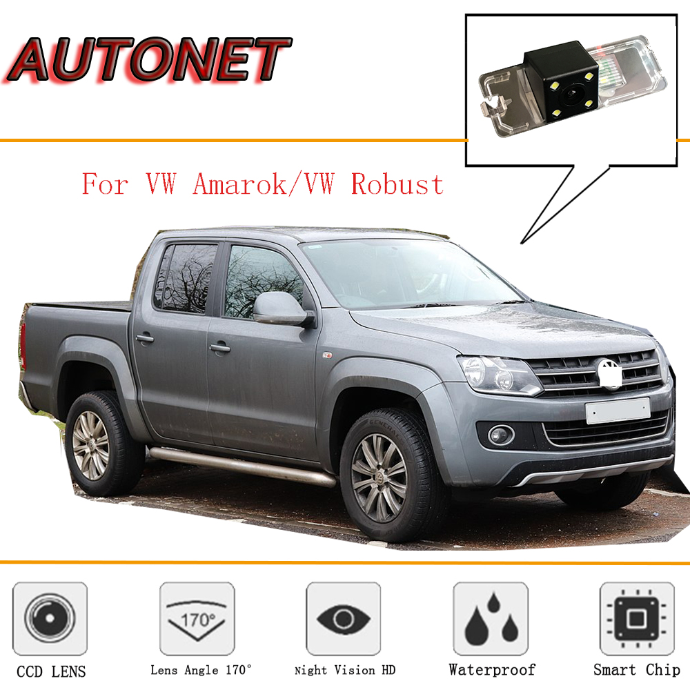 AUTONET Rear View Camera For VW Amarok/vw Robust PICKUP 2010~2018/Reverse Camera/CCD/Night Vision/License Plate Camera