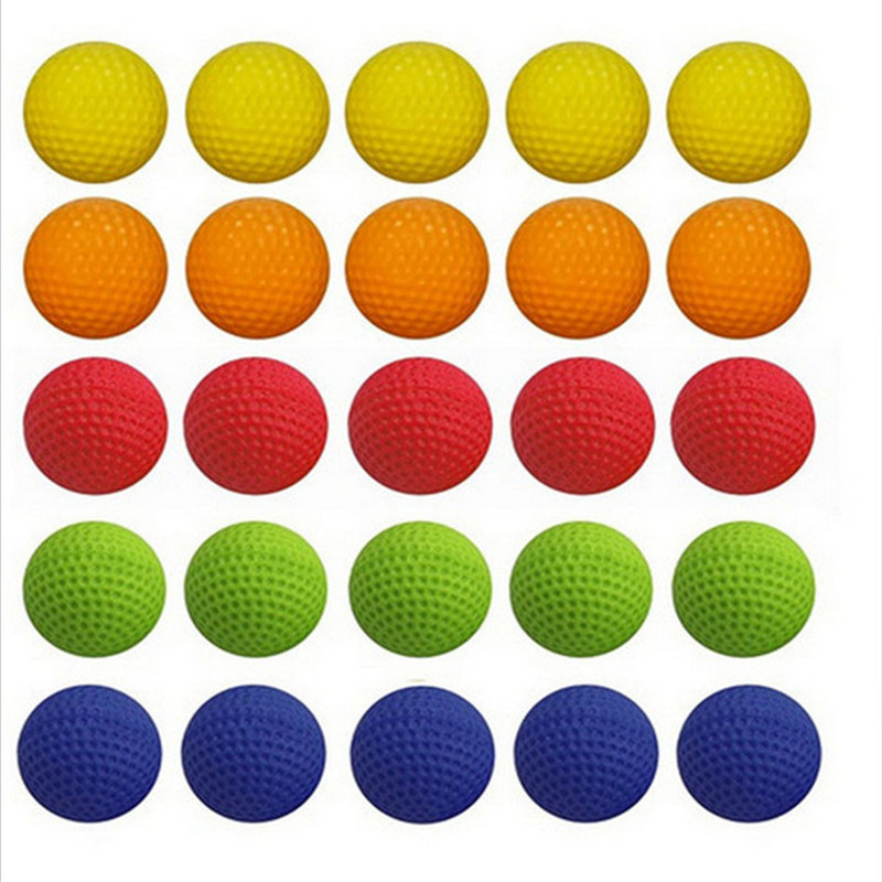 100PCS Bullet For Nerf Gun Round Refill Compatible Toy Balls For Nerf Bullets Dart Rival Zeus Apollo Blaster