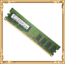 Desktop memory For Samsung 2GB 800MHz PC2-6400U DDR2 PC RAM 800 6400 4G 240-pin Free shipping