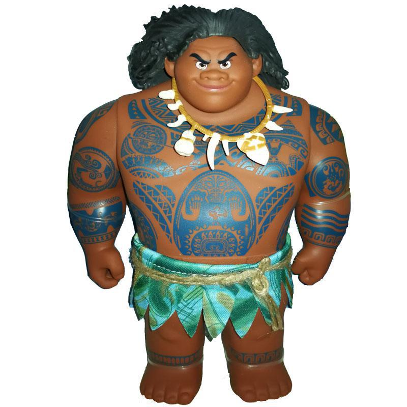 Hot Moana Movie Maui pvc Action & Toy Figures Cartoon Princess Moana Action Figures Toy Model Dolls For Girls Kids Lover Gifts стоимость