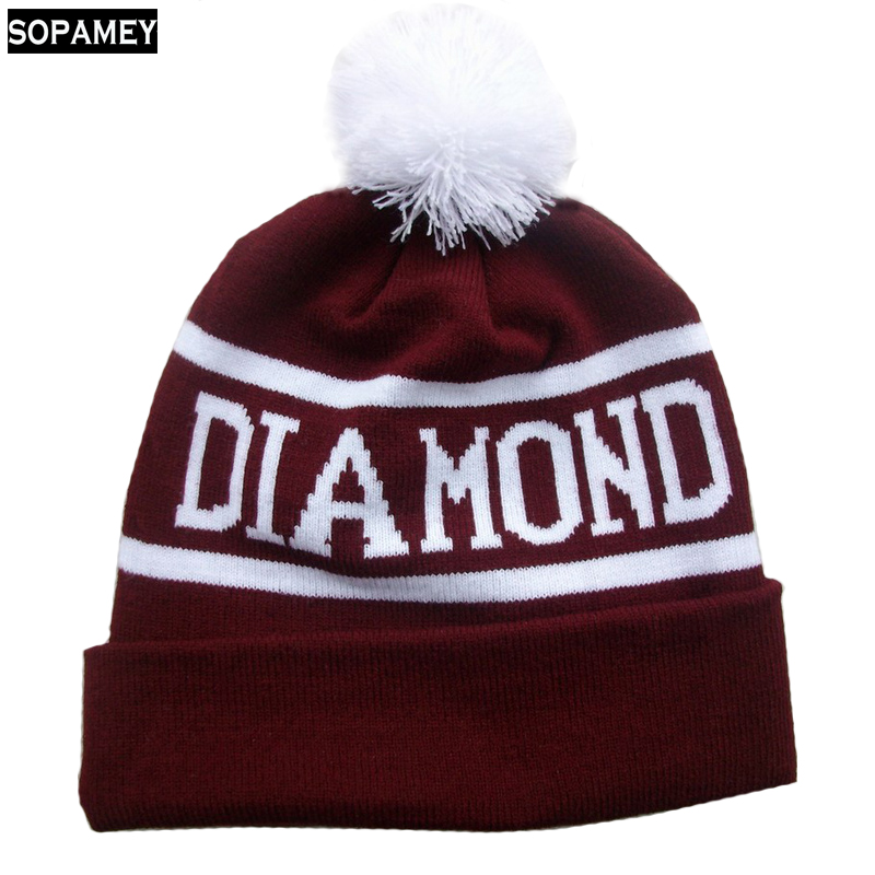2017 Winter Ski Hat Warm Woolen Caps For Men Hats Female Beanies Skullies Quality Gorros Hombre Snowboard Cap Gorros De Lana sn su sk snowboard gorros winter ski hats skating caps skullies and beanies for men women hip hop caps knitting bonnet chapeu