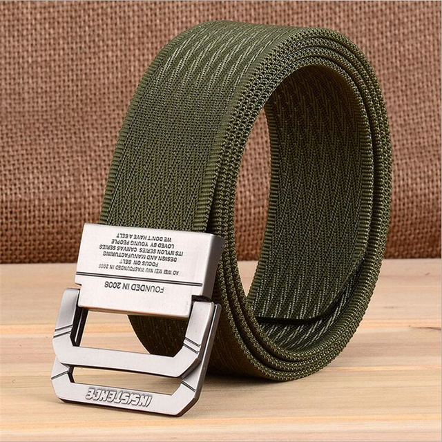 Hot Canvas Belts Male 2017 New Mens Belt Men Fashion Business Casual