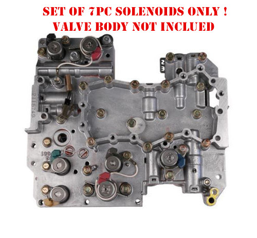 4eat Transmission Solenoids Kit 7pc Set For Subaru Trans Control Solenoid 31939 Aa191 Forester
