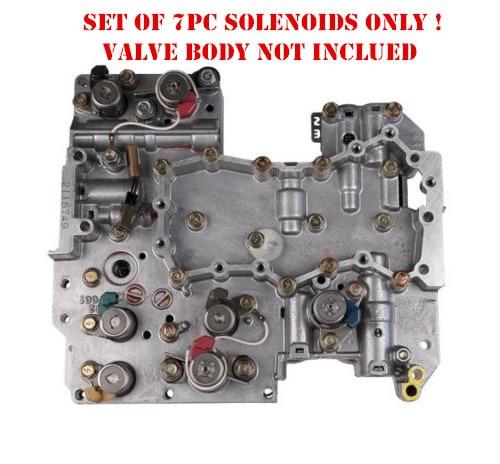 4eat Transmission Solenoids Kit 7pc Set For Subaru Trans