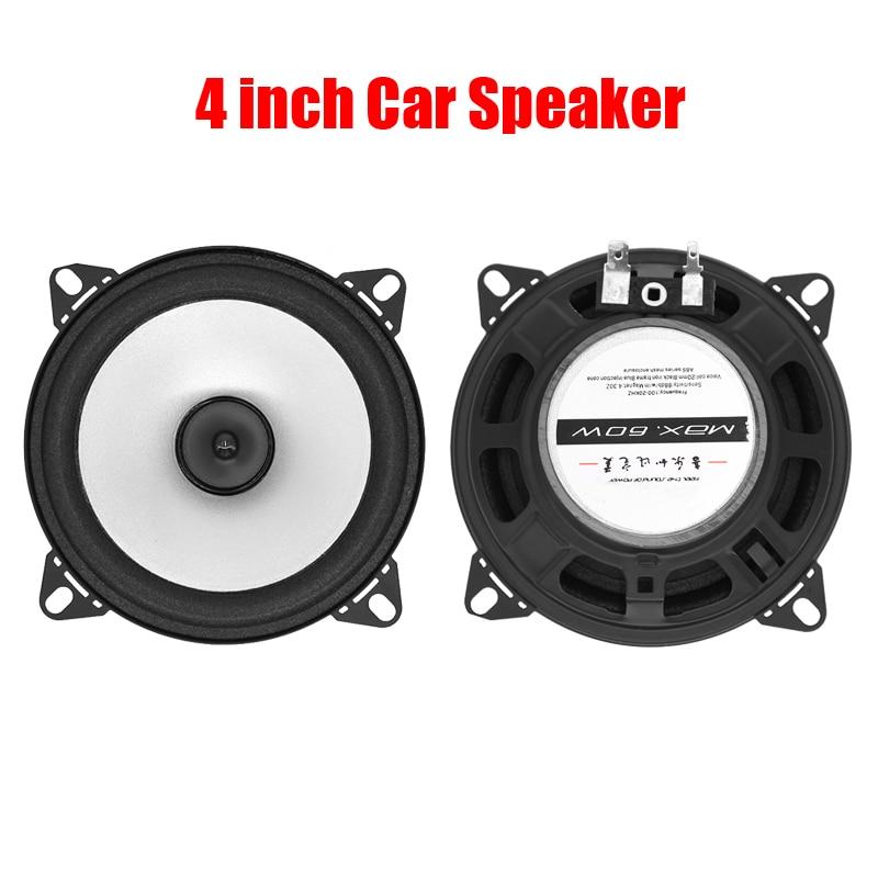 2pcs/lot 4inch car speaker automotive sound subwoofer car HIFI full range loud speaker for cars LB- PS1401D via free shipping