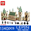 Lepin 16030 1340pcs Movie Series The Hogwarts Castle Set Building Blocks Bricks Compatible 4842 Educational Toys