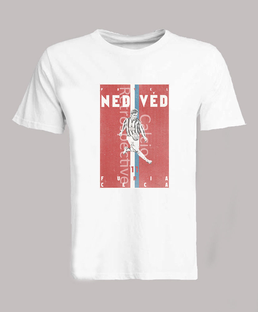4dad92311 Pavel Nedved Czech Republic Footballer Shirt T Shirt Top Vintage Look-in T-Shirts  from Men s Clothing   Accessories on Aliexpress.com