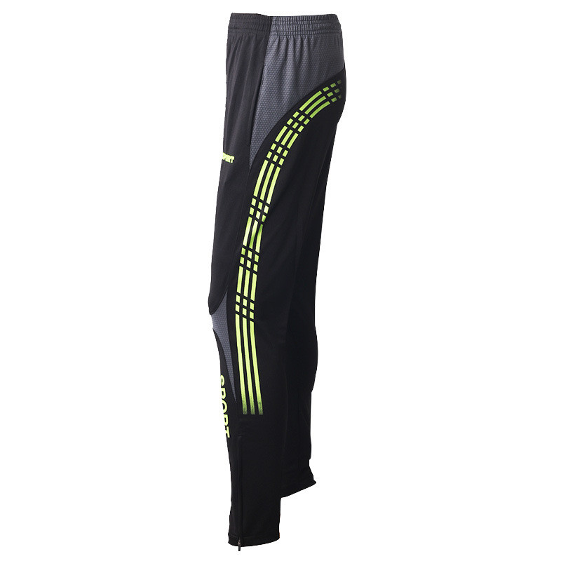 Mens sports pants fitness, running, football pants quick-drying outdoor clothing