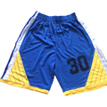 2016 Polyester S-5XL Men Cheap Throwback Colleage Basketball Jersey Curry Blue Shorts Mens Basketball Jersey Sports Brand Shorts