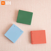 Xiaomi Mijia VH Power Bank & LED Make Up Mirror Outdoor Portable Makeup Adjustable Double Magnifier Led Mirror For Lover Gift