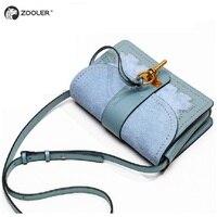 Brand High Quality Genuine Leather Bags women ZOOLER Shoulder Bag Luxury Designer bags bolsos mujer de marca famosa 2018 W118