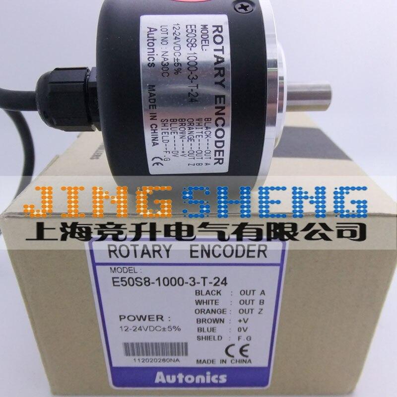 E50S8-1000-3-T-24 100% nouveau et Original encodeur rotatifE50S8-1000-3-T-24 100% nouveau et Original encodeur rotatif