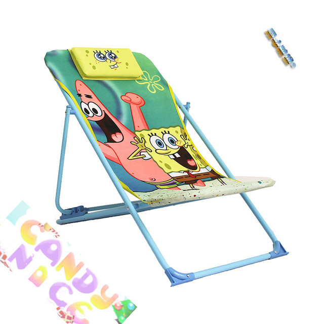 Sugar Baby Love Fort Childrenu0027s Toys Gift SpongeBob Nursery Folding Deck  Chairs