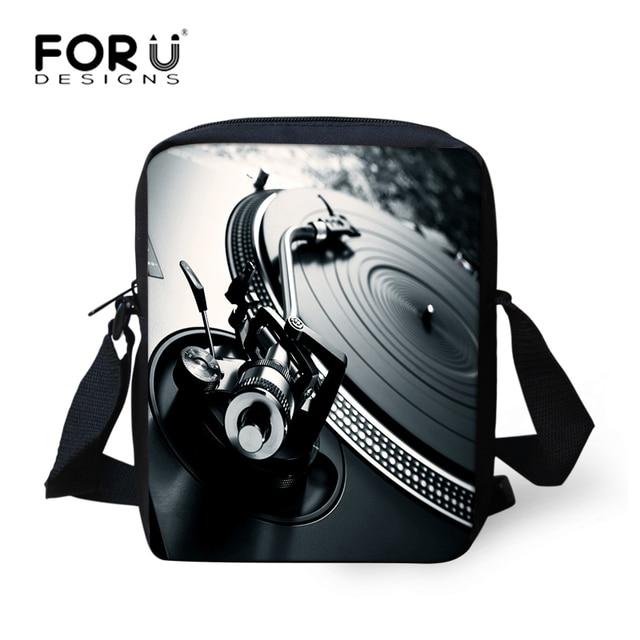 d39b3cfc65 FORUDESIGNS DJ Music Messenger Bags for Men