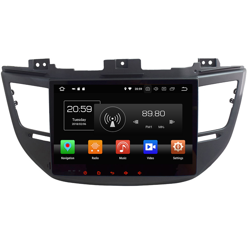 2 Din Android 8 0 Octa Core 10 1 4GB RAM 32GB ROM GPS Navigation Car