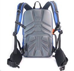 Fly-Leaf Camera Bag Backpack Anti-theft Camera Bag with 15'' Laptop Capacity for DSLR SLR Camera