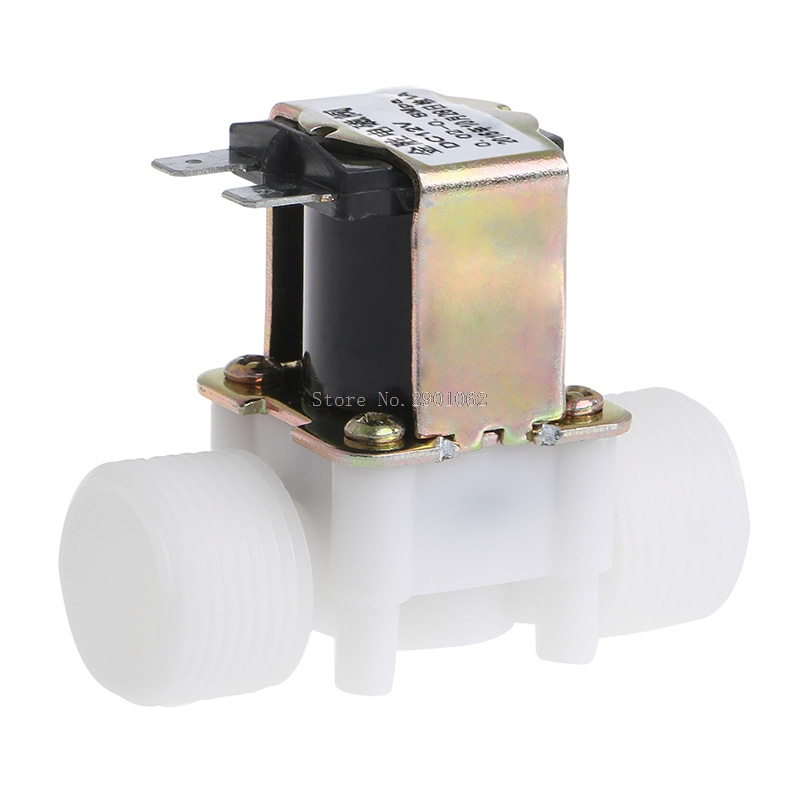 3 4 DC 12V PP N C Electric Solenoid Valve Water Control Diverter Device B119