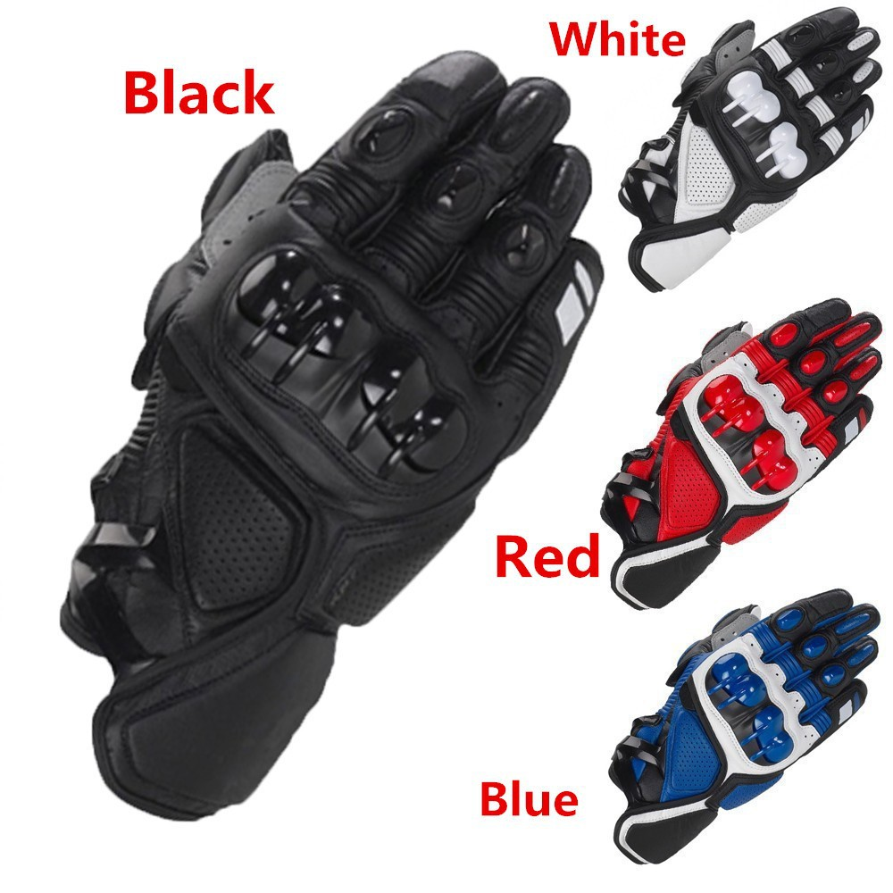 Motorcycle gloves discount - Motorcycle Gloves Moto Racing Motorbike Motocross Motor Riding Cycling Bicycle Glvoes Black Red Blue Orange