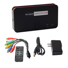 Ezcap 284 HDMI 1080P HD Карта видеозахвата с HDMI/AV/Ypbpr входом HDMI выходом сохранить 1080 P/720 P видео в USB флэш-накопитель/SD