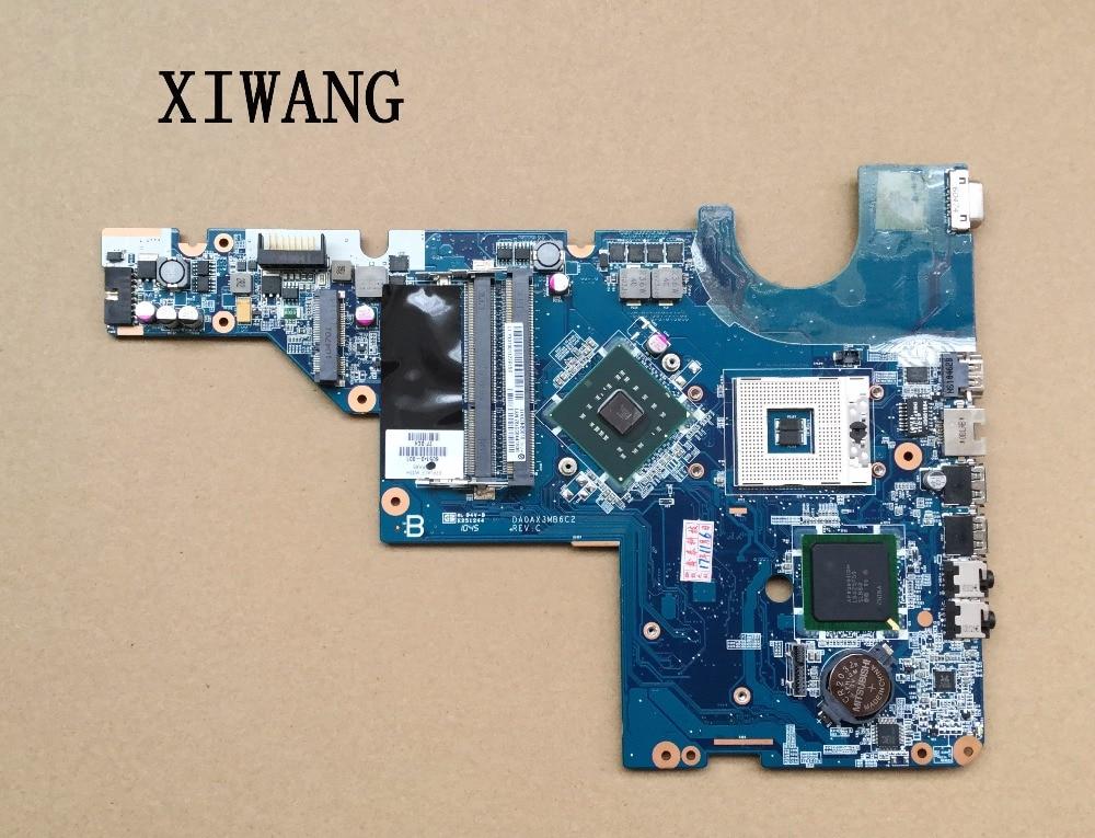 Free Shipping For HP COMPAQ G42 G62 CQ42 CQ56 G56 CQ62 CQ64 Intel 478 LAPTOP MOTHERBOARD 605140 001 DA0AX3MB6C1