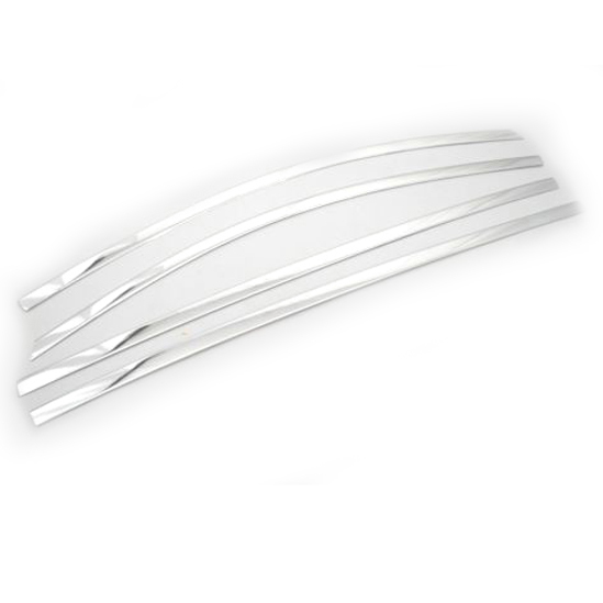 ФОТО Chrome Styling Side Window Top Trim Set for KIA Sportage Third Generation 2011-2015