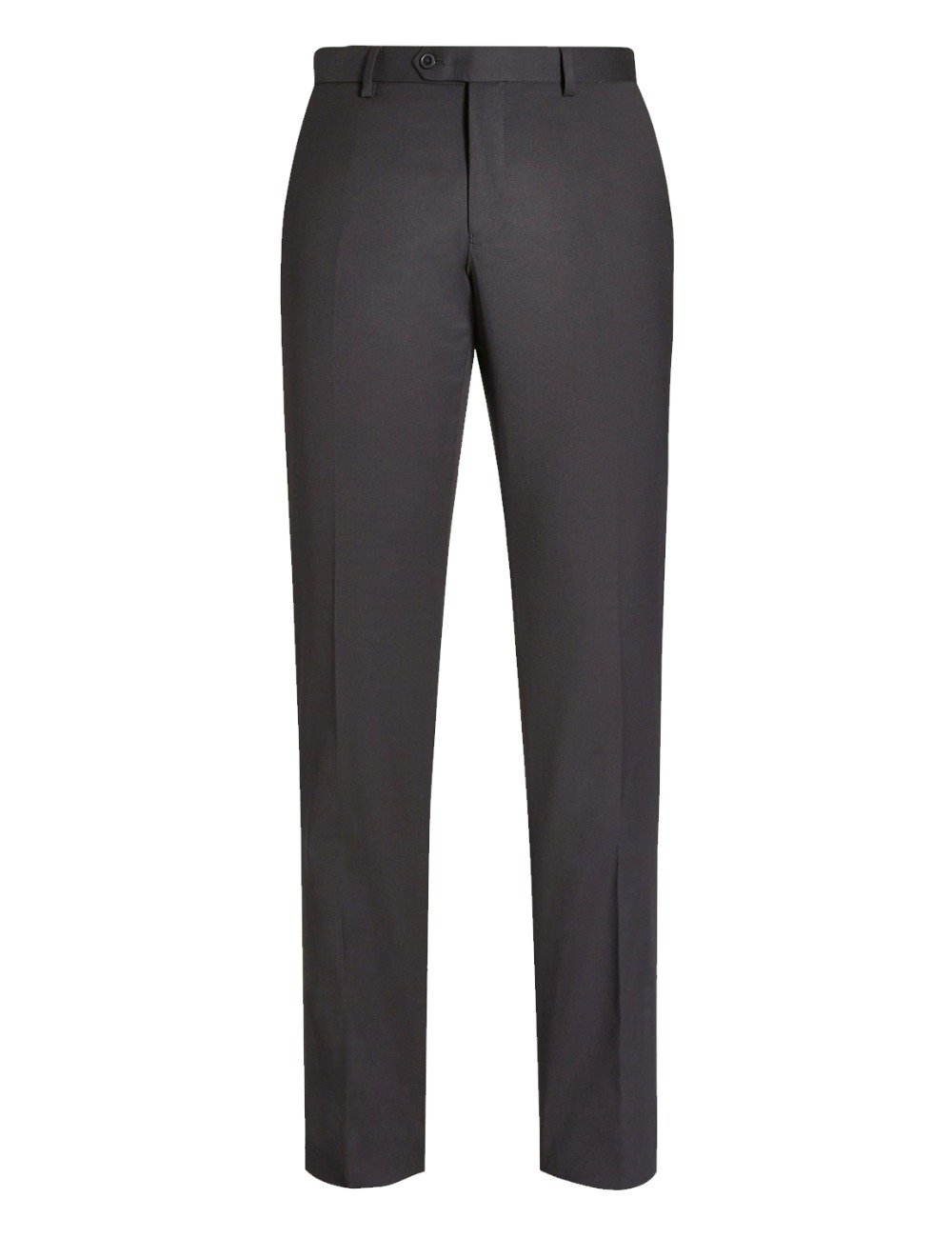 Men's Black Suit Separate Pant Flat-Front Straight Slim-fit Business Suit Pants New Arrival For Custom Made Male Suits Pants