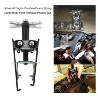 Car Styling Spring Compressor Carbon Steel Engine Overhead Valve Spring Compressor Valve Removal Installer Tool Universal
