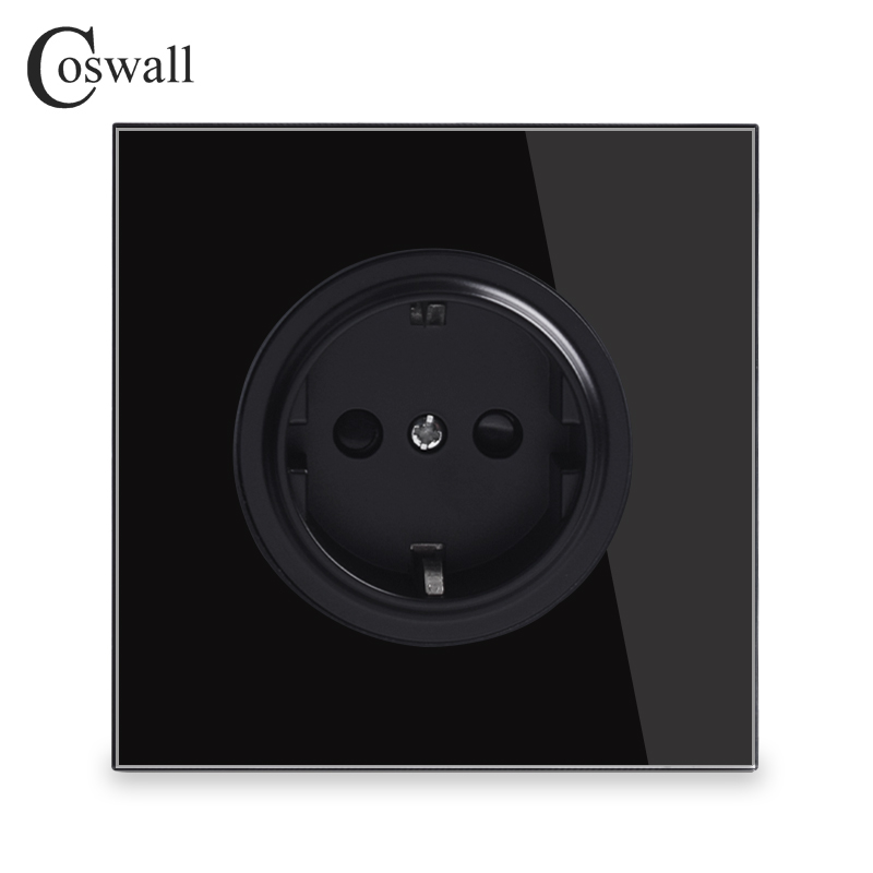 coswall-black-crystal-glass-panel-16a-eu-standard-wall-power-socket-outlet-grounded-with-child-protective-lock-r11-series