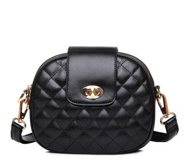 Flap-Bag Hasp-Shoulder-Bag Crossbody-Bag Messenger Lattice-Design Mini Women Ladies 100pcs