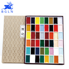 Japan Verheißungs 12/18/24/35/48/60 Wasser Farbe Pigment Set Super Qualität Professionelle Sumi-e Aquarell Kunst Liefert