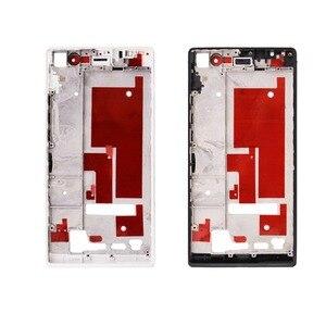 Image 3 - Voor Huawei Ascend P6 P7 P10 Behuizing Midden Frame Bezel Midden Plate Cover vervangende onderdelen voor Huawei P6 P7 P10 met Gereedschap