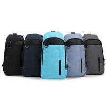 YIFANGZHE Sling Bag, Shoulder Cross-body Chest Bag Slim Durable Multipurpose Daypacks Lightweight Daypack for Men