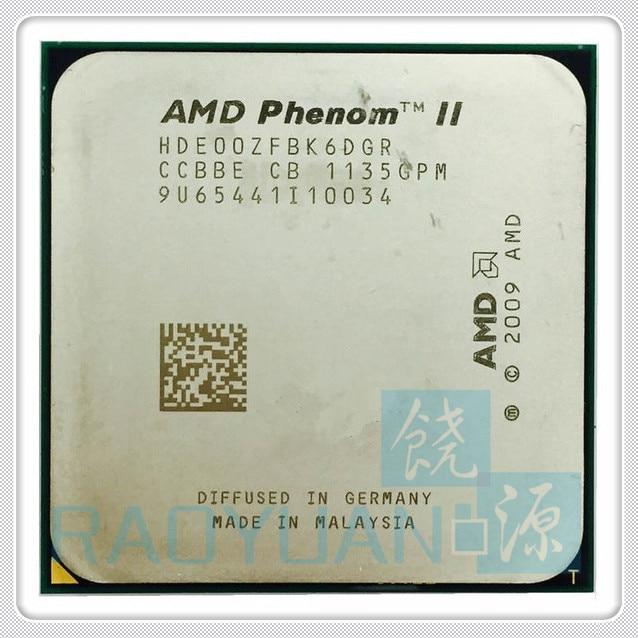 hde00zfbk6dgr - AMD Phenom X6 1100T X6-1100T 3.3GHz Six-Core CPU Processor HDE00ZFBK6DGR 125W Socket AM3 938pin
