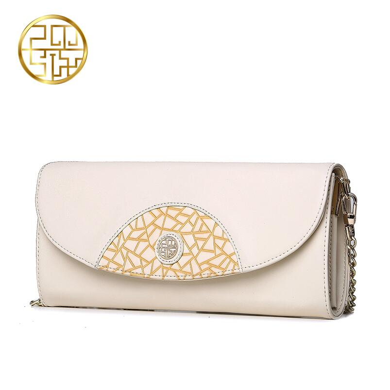 Famous brand top quality dermis women bag 2016 new fashion Clutch Wallet printing Evening Bags Mini