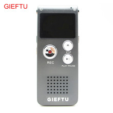 GIEFTU Voice Recorder 8GB Brand Spy Mini USB Flash Digital Audio Voice Recorder 650Hr Dictaphone MP3 Player