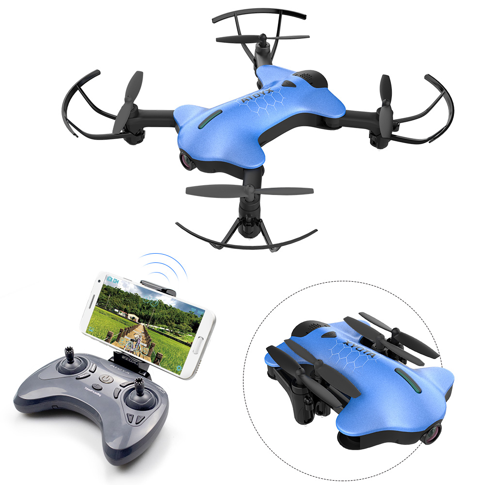 ATOYX Camera Drone With Camera 4k Wide Angle Mini Drone HD RC Quadcopter FVP WIFI High 4CH Headless Altitude Hold Mode