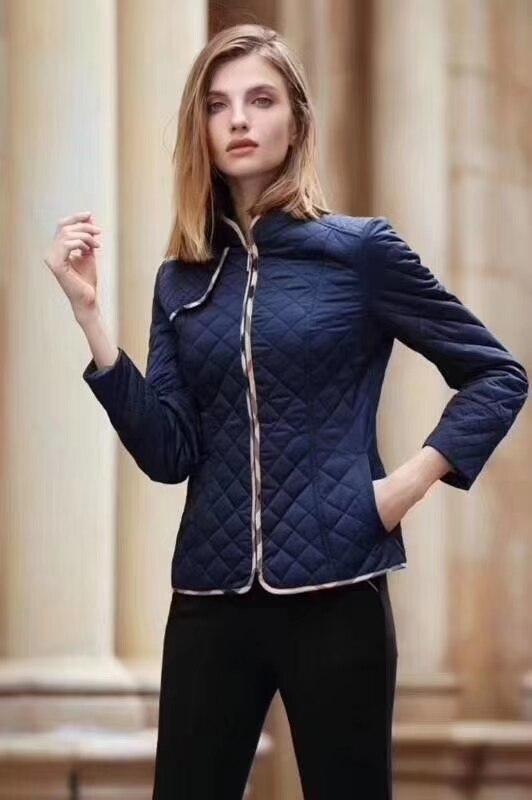 2019 Slim Women's Coat High-quality Spring Fall Parkas Diamond Jacket Cotton Coat Jacket Light Down Parka