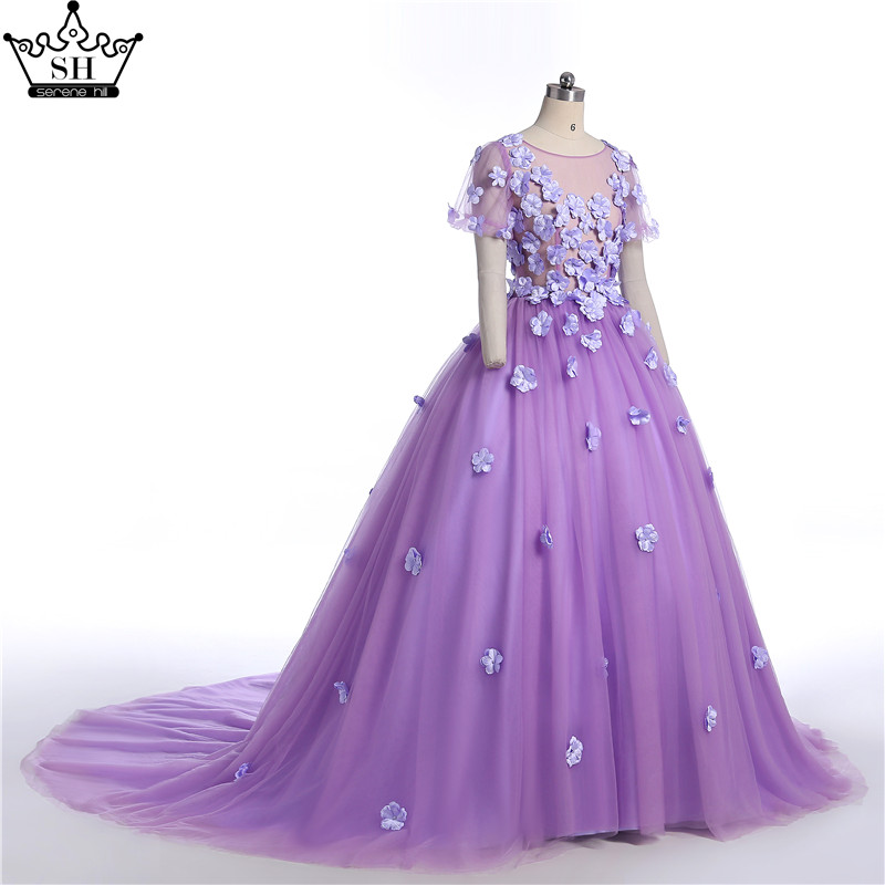 Mother Daughter Wedding Dresses Mum Mom and Baby Matching Clothes Purple Pink Rainbow Sister Matching Clothes Family Look Dress - 3