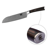 Color Wood Handle Kitchen Knives