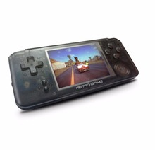 Portable 3 inch Handheld Game Console 64 Bit Retro Video Game Console HD Screen Bluit in
