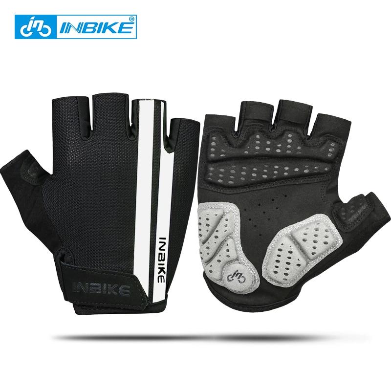INBIKE guantes de ciclismo medio dedo antideslizante almohadilla de - Ciclismo